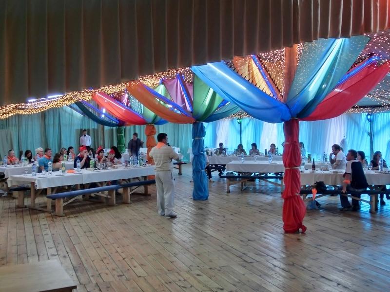 Организация праздника — корпоративное мероприятие OBI, август 2011