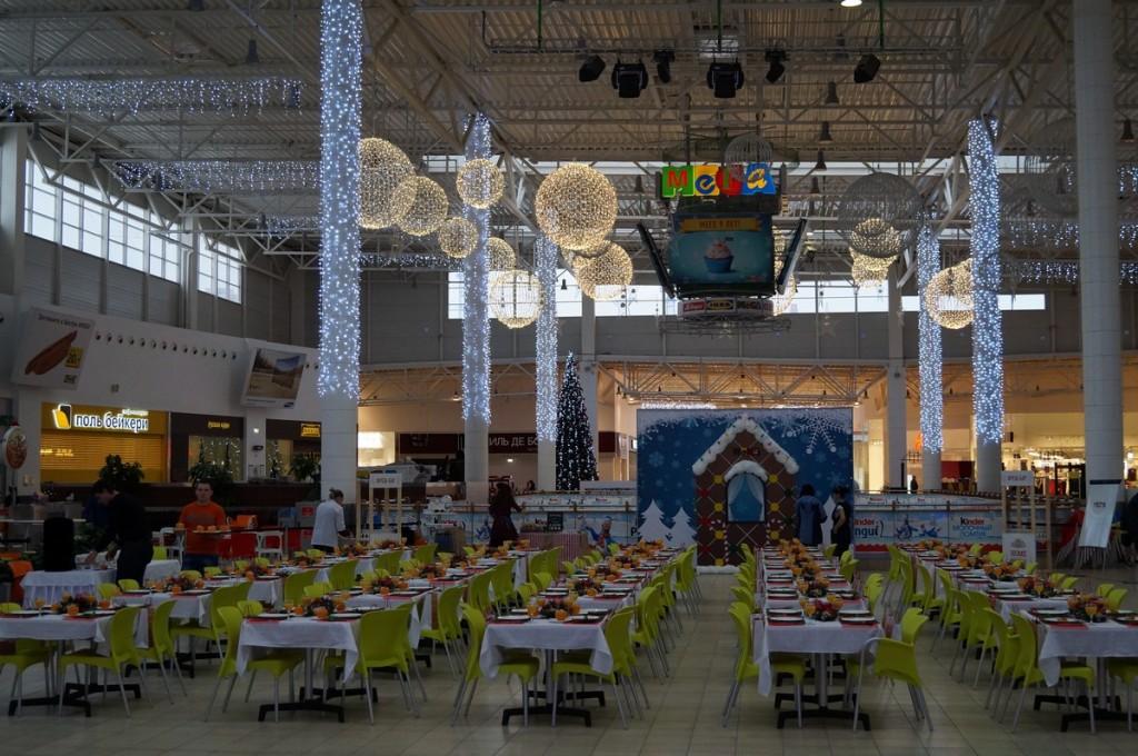 МЕГА, кейтеринг на мероприятии Завтрак для арендаторов, по заказу IMG Group, декабрь 2014