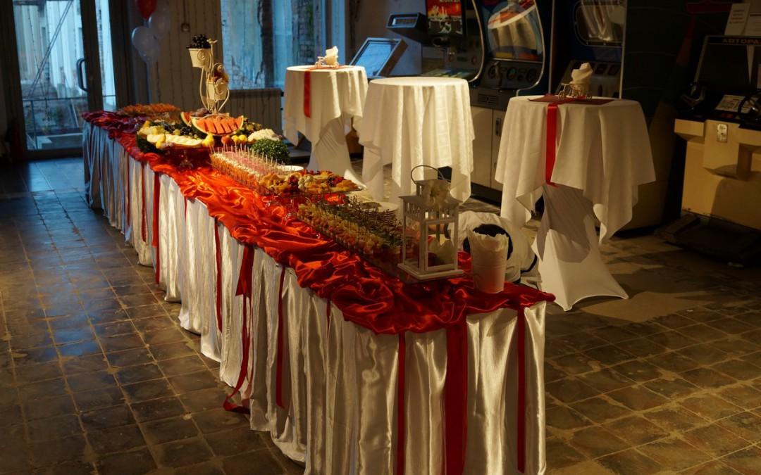 Свадебный фуршет, октябрь 2015