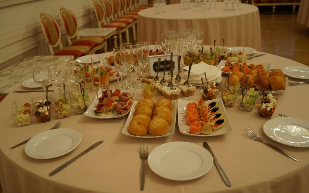 Фуршет на Церемонии награждения конкурса Туризм ХХI век, по заказу Agency Event, декабрь 2015
