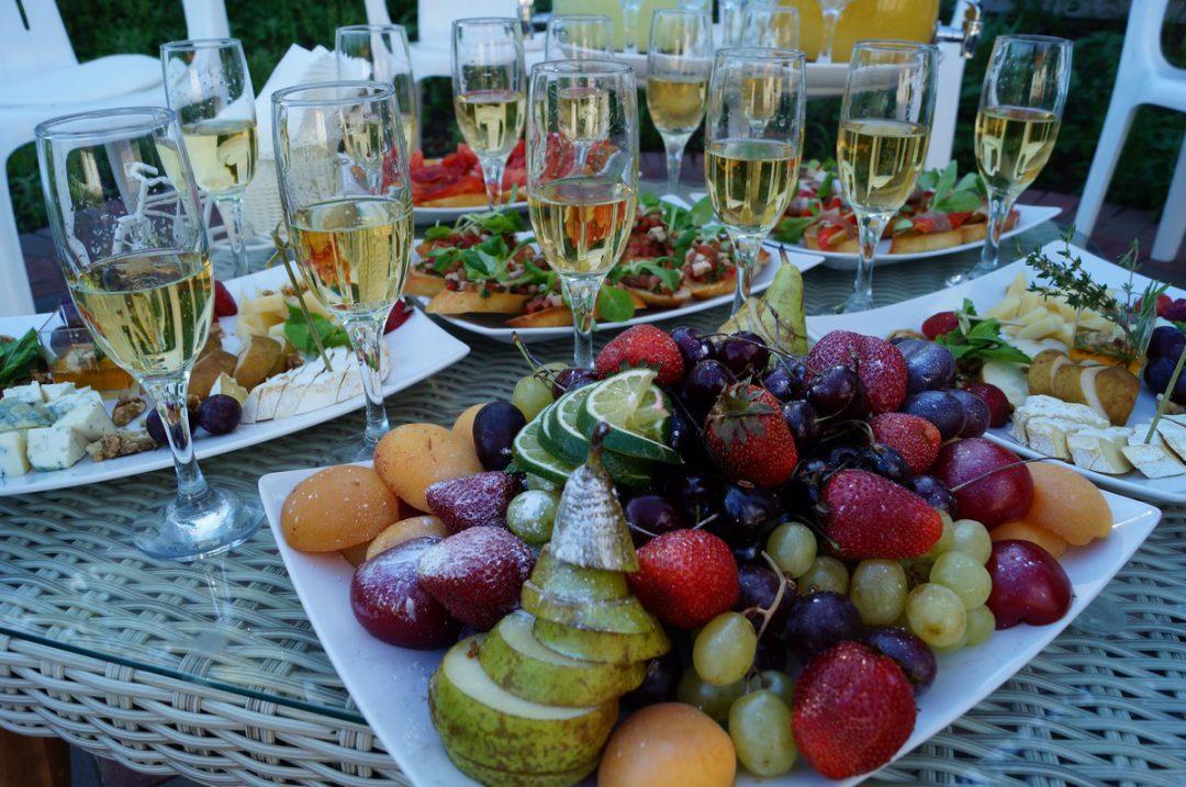 Гастрономический ужин в итальянском стиле в честь частного дня рождения, июнь 2016