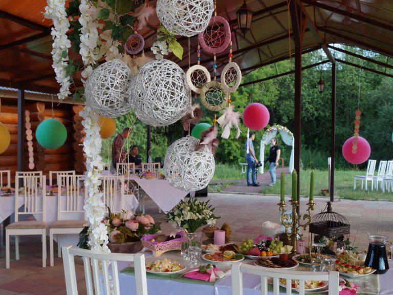Свадьба на природе, июль 2016
