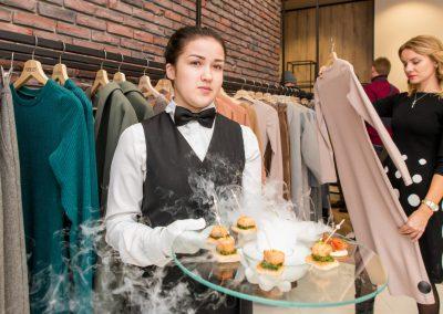 Фуршет на открытии бутика POP&POPL, организатор Инна Колигер, ноябрь 2017