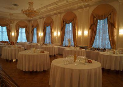 Фуршет на торжественной церемонии вручения наград Лидер Туризма 2017, декабрь
