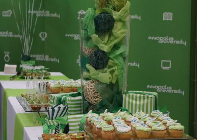 Фуршет сладкий стол в Университете Иннополис, по заказу агентства Immotion, декабрь 2017