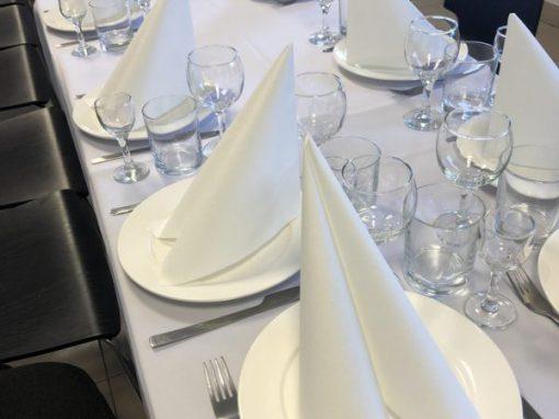 Банкет, торжественный обед для деловых партнеров, ноябрь 2018