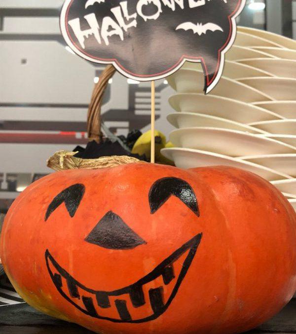 Кофе-брейк в стиле Halloween, октябрь 2018
