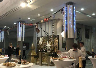 Фуршет новогодний торжественный на церемонии награждения Страховой Компании, декабрь  2018