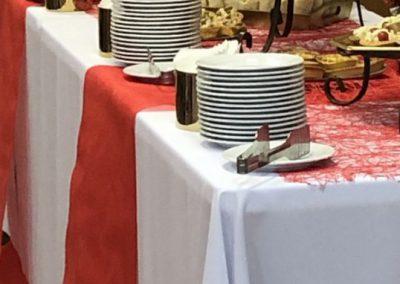 Кофе-брейк на учебной конференции, март 2019