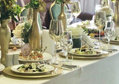 Банкет Свадебный в цвете золото-шампань, август 2019