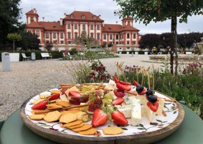 Фуршет Свадебный, Прага, Замок Троя, сентябрь 2019