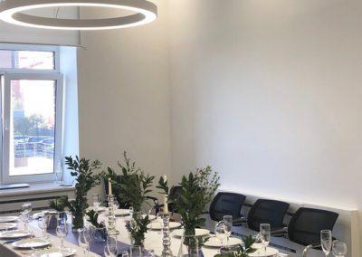 Банкет обеденный в честь Дня Рождения, в офисе, 2019