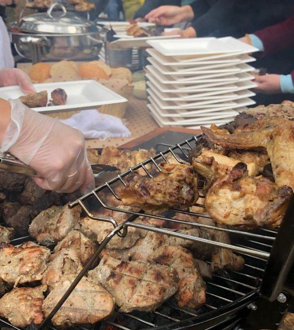 Пикник BBQ в поселке Бавария, октябрь 2019