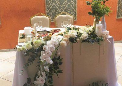 Банкет Свадебный в цвете шампань-золото-белый, сентябрь 2019