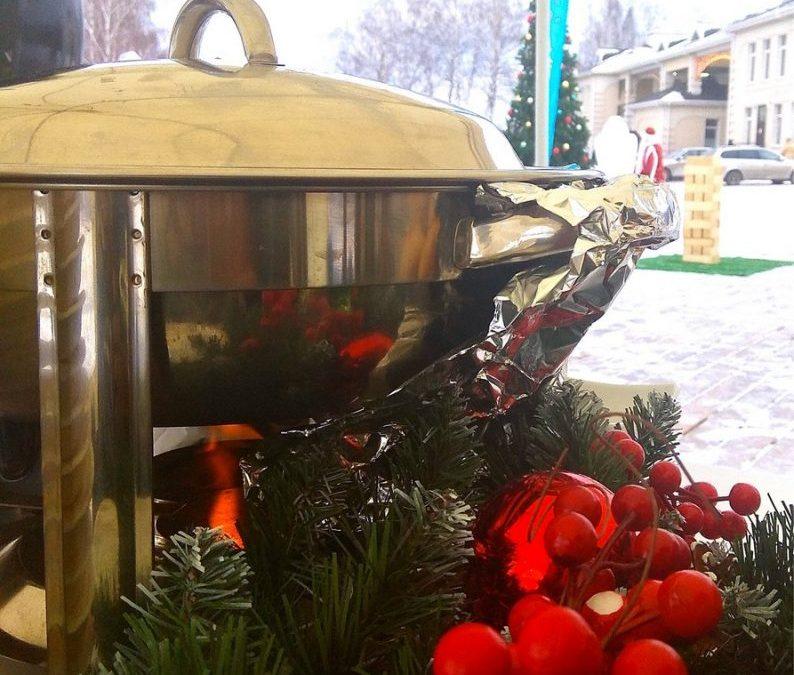 Пикник зимний для гостей коттеджного поселка, декабрь 2019