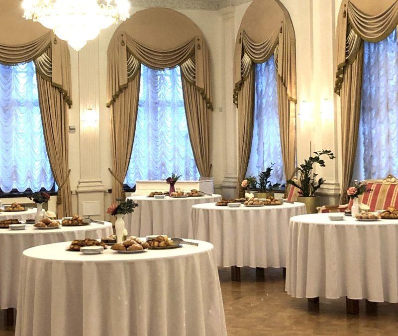Фуршет Чайный на Церемонии вручения Премии Творческого конкурса по туризму, ноябрь 2020