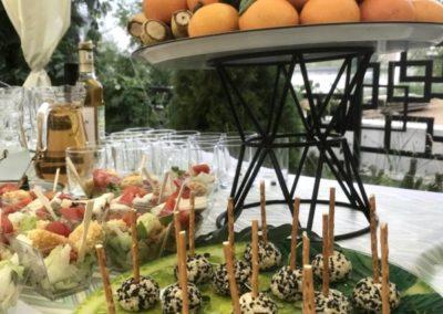 Фуршет, BBQ на вечеринке на Дне Рождения, июнь 2021
