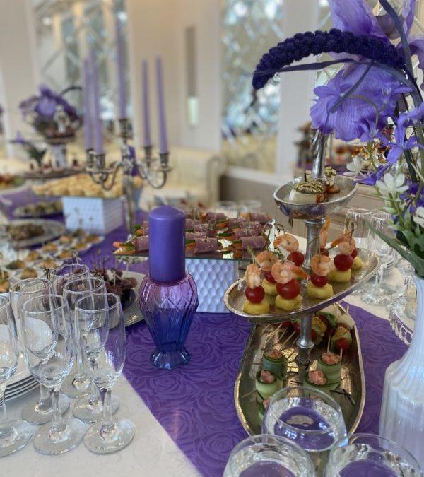 Фуршет Свадебный в ЗАГСе Чаша, июнь 2021