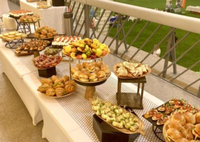 Фуршет, пикник на корпоративном мероприятии, июнь 2021
