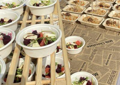 BBQ пикник в глэмпинге для IT компании, август 2021