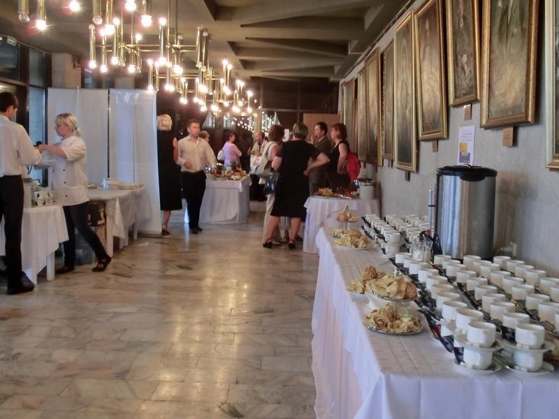 Фуршет на клиентском мероприятии компании MCD, июнь 2011