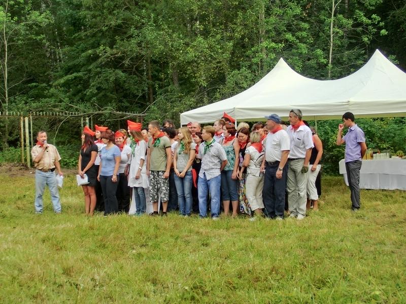 Организация праздника — корпоративное мероприятие Сбербанк, август 2011