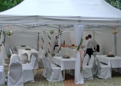 Свадебный фуршет в гостевом доме, август 2013