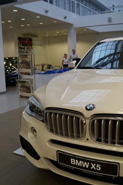 ТТС, салон BMW, клиентское мероприятие, ноябрь 2013