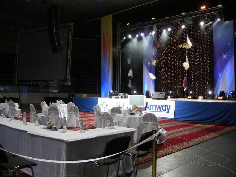 Кейтеринг на клиентском мероприятии AmWay