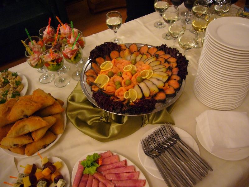 Фуршет на новый год для «Казанские Аптеки»